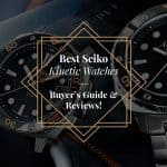 Best Seiko Kinetic Watches of 2019 - Buyer's Guide & Reviews! 4