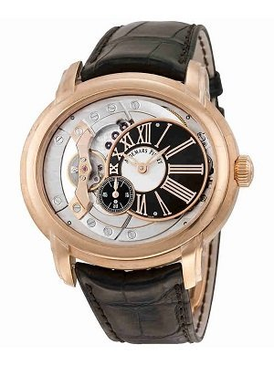 audemars piguet-millenary-4101-18kt-rose-gold-skeleton