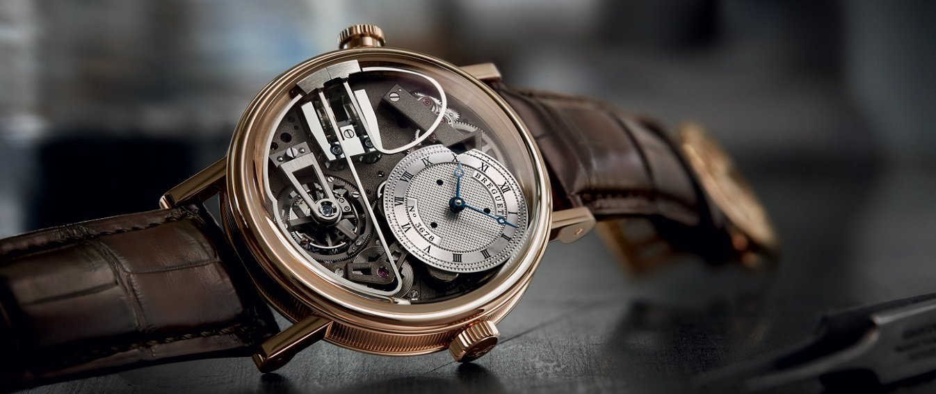 Breguet skeleton watch