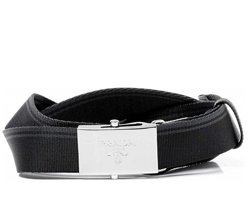 prada-mens-grey-black-canvas-belt
