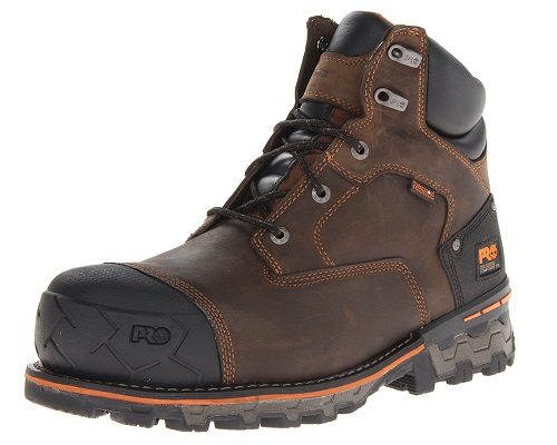 Timberland PRO Men's Boondock 6'' Composite Safety Toe Waterproof Work Boots